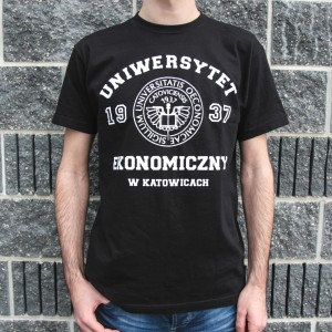"Koszulka ""College Basic Black"" Męska"